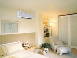 Где разместить систему кондиционирования в спальне