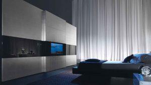 Как и где установить телевизор в спальной комнате
