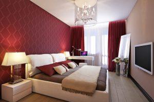 Как найти хорошее место для установки телевизора в спальне