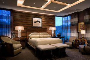 Как правильно комбинировать освещение в спальню