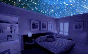 Как создать звездное небо в спальне