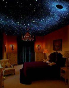 Как выглядит звездное небо в спальне
