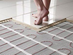 Комфорт и теплота спальни с помощью технологии теплый пол