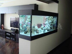 Красивый аквариум для спальни