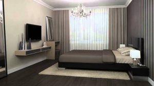 Куда поставить телевизор в спальне