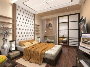 Ламинат для обустройства интерьера спальни