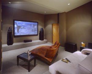 Музыкальная система размещенная в спальне