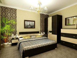 Оформляем комбинированный пол в спальне