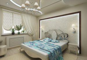 Особенности выбора люстры для спальни