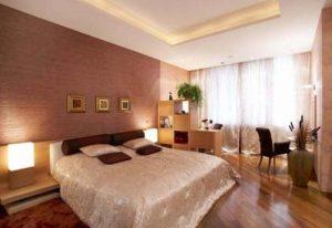 Освещение спальни комбинированного типа