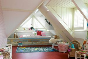Пол в спальне с противоскользящей поверхностью