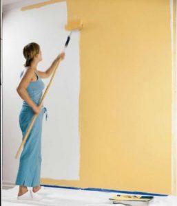 Правила окрашивания стен различной краской