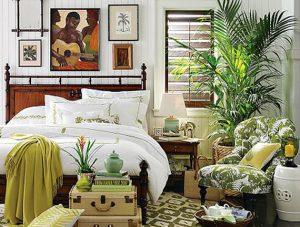 Применение цветов для создания интерьера спальни