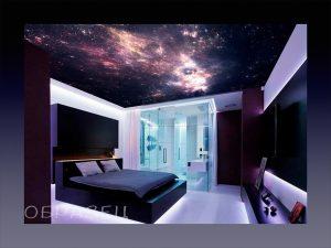 Современная проекция звездного неба для потока в спальне