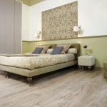 Современный пол пробкового типа для спальни