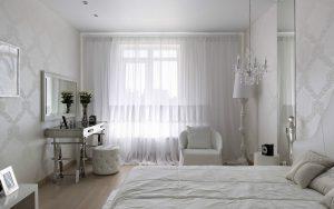 Спальня в белой палитре