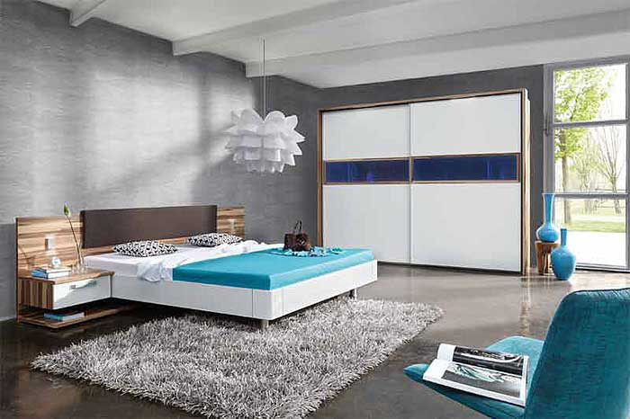 Дизайн спальни фото в стиле хай-тек