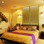 Как красиво оформить желтую спальню