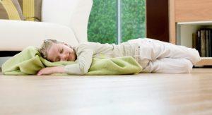 Стоит ли выбирать теплый пол в спальне