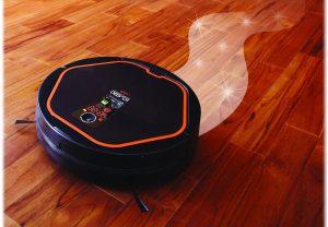 Технологичный умный пылесос полностью автоматизирован