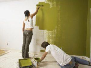 Учимся правильно красить стены