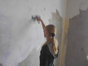 Учимся штукатурить стены в доме