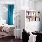 Секреты зонирования спальни