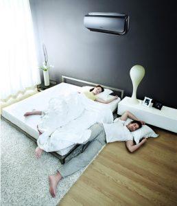 Выбираем кондиционер для обустройства спальни