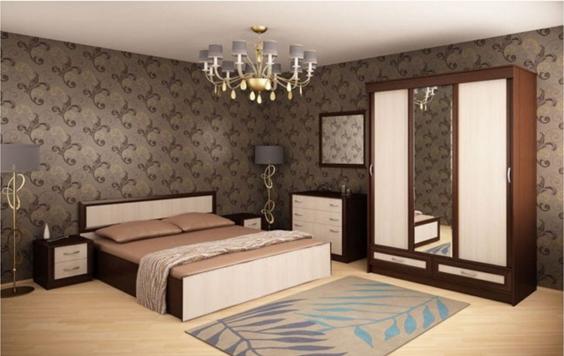 Практичная планировка спальни