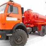 АКН-10 на шасси КамАЗ-43118: основные особенности