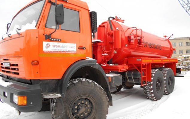 АКН-10 на шасси КамАЗ-43118