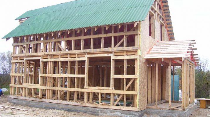 Экономия при возведении каркасных домов
