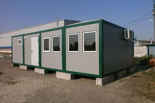 Этапы строительства дома из блок-контейнеров