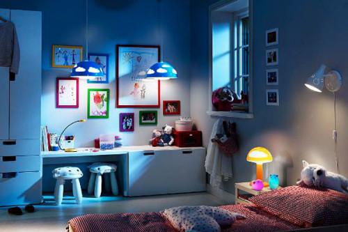 Идеальный светильник для детской