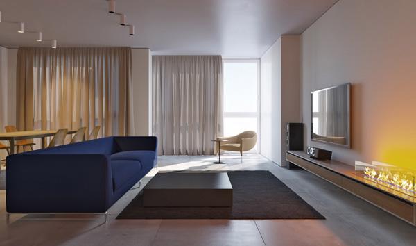 Интерьеры в квартирах
