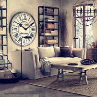 Использование часов в оформлении интерьера