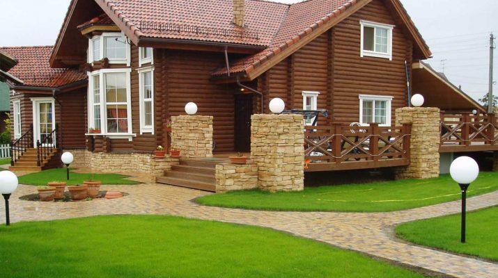 Как построить красивый и уютный дом из бруса