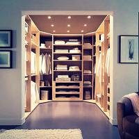 Как создать дизайн гардеробной комнаты
