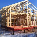 Как строятся каркасные дома