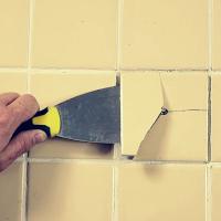 Как заменить керамическую плитку