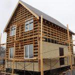 Канадский дом является очень жёстким и прочным сооружением