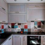 Кухонная плитка — необычные решения