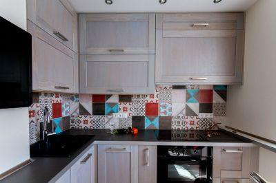Кухонная плитка - необычные решения