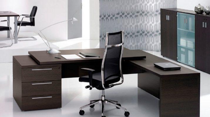 Мебель в интерьере офиса и уход за ней