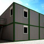 Мобильный офис из блок-контейнеров, преимущества и недостатки