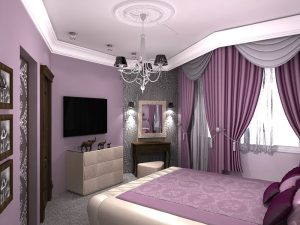Пример красивой спальни