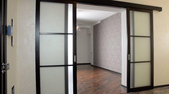 Раздвижные двери - преимущества и недостатки