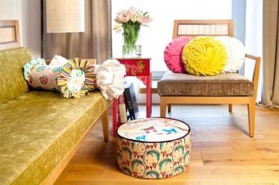 Стиль бохо в мебели
