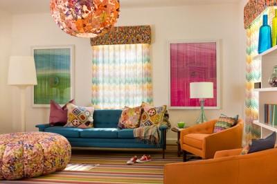 Цвет в архитектуре интерьера