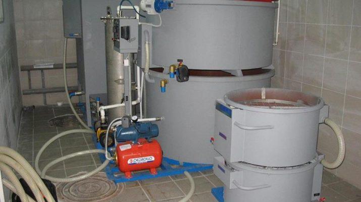 Установки горячего замкнутого водоснабжения